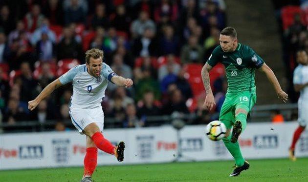 Англия минимально обыграла Словению и вышла на ЧМ-2018