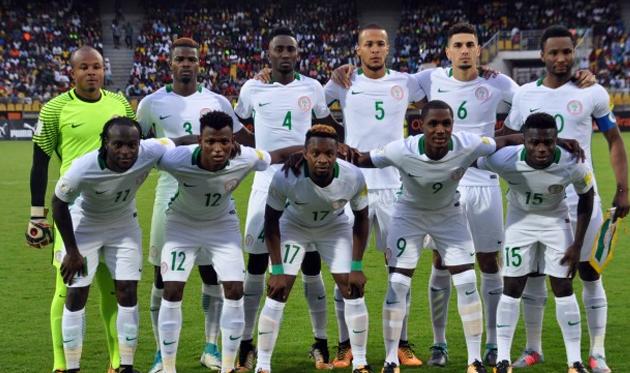 Сборная Нигерии вышла на ЧМ-2018