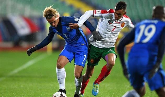 Франция минимально обыграла Болгарию