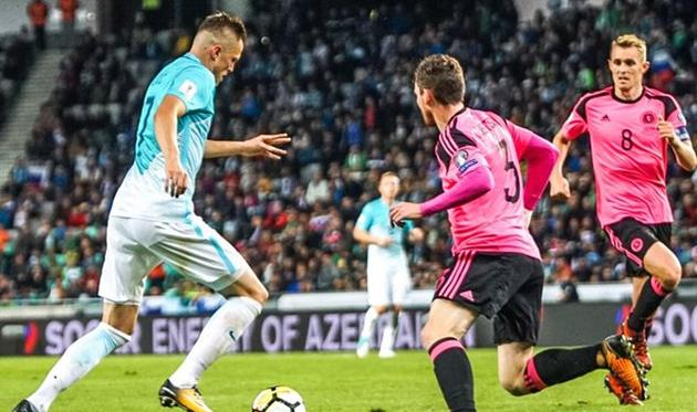 Словения не пустила Шотландию в стыковые матчи