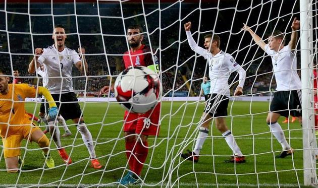 Германия установила рекорд поколичеству голов вотборочных турнирахЧМ иЕвро
