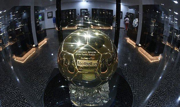 Золотой мяч от юзеров Football.ua