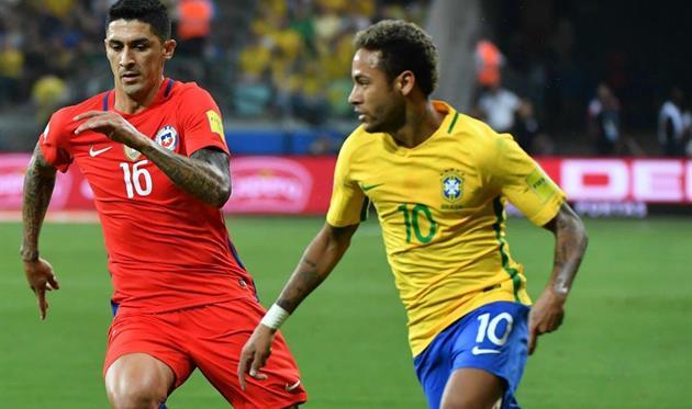 Сборная Чили проиграла в Бразилии и не поедет на ЧМ