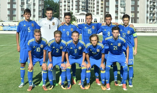 Украина U-17, ФФУ