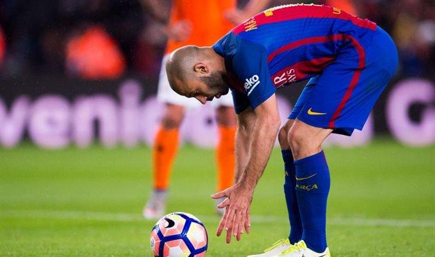 Маскерано может уйти из Барселоны