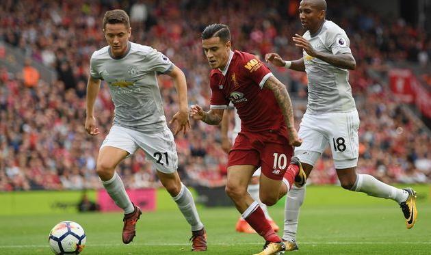 Ливерпуль и Манчестер Юнайтед поделили очки