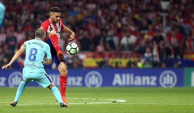 Атлетико и Барселона разошлись миром
