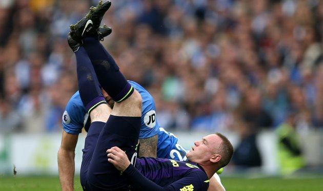 Руни спас Эвертон от поражения в матче с Брайтоном