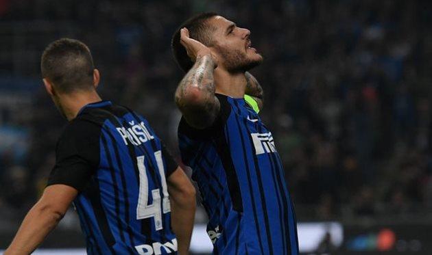 Хет-трик Икарди принес победу Интеру над Миланом