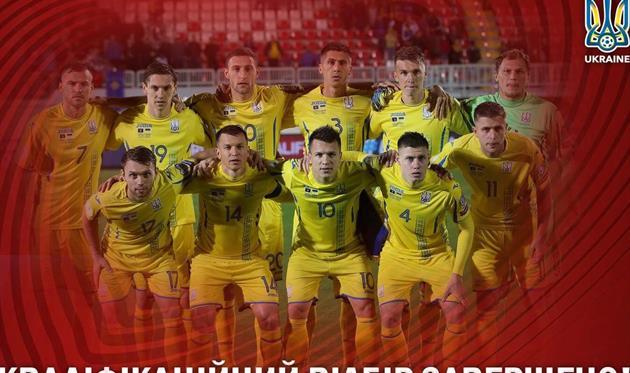 Украина опустилась на 30-е место в рейтинге ФИФА