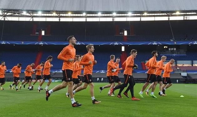 Рейтинг УЕФА: Шахтер опустился надве позиции, Динамо на25-м месте