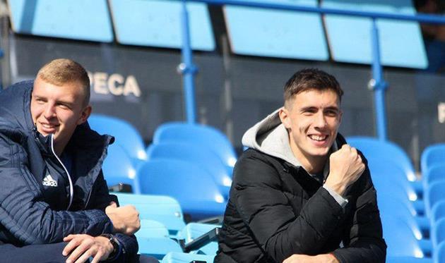Александр Мигунов (справа)