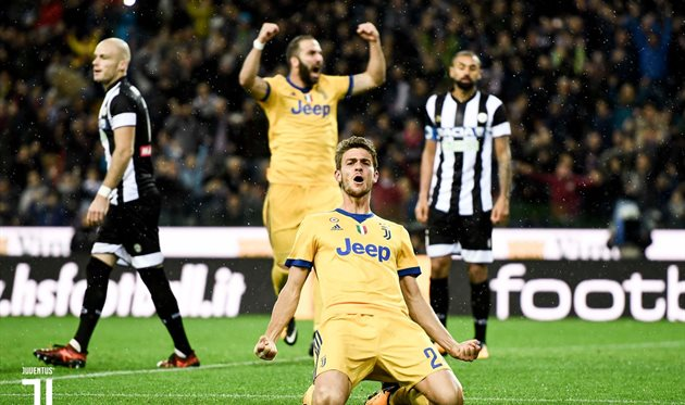 Три гола Хедиры помогли «Ювентусу» побороть «Удинезе» вматче чемпионата Италии
