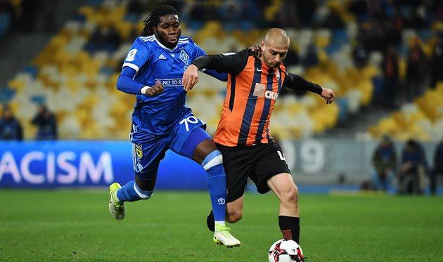 Динамо Киев и Шахтер победителя не выявили