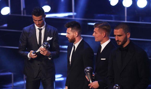 Объявлен лучший футболист этого года поверсии FIFA