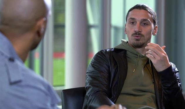 Златан Ибрагимович: Вернулся в«Манчестер Юнайтед», чтобы выиграть чемпионат Британии