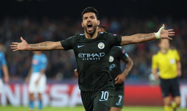 Агуэро стал лучшим бомбардиром вистории «Манчестер Сити»