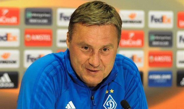 Хацкевич прокомментировал выход Динамо вплей-офф Лиги Европы