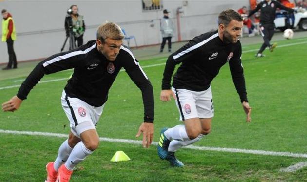 Дмитрий Гречишкин (слева), facebook.com/FCZoryaLuhansk