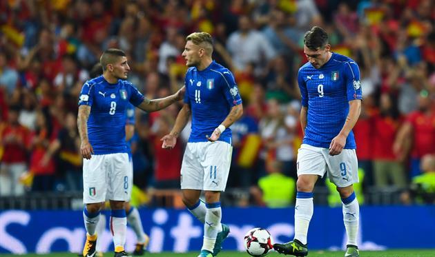 Неудачный матч с Испанией, Gettyimages