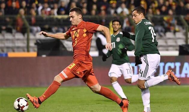 Бельгия иМексика сыграли вничью срезультатом  3:3