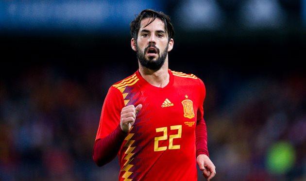 Футболист сборной Испании Иско может пропустить матч сроссиянами из-за травмы