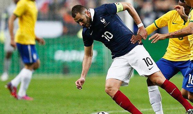 Бензема в сборной Франции, getty images