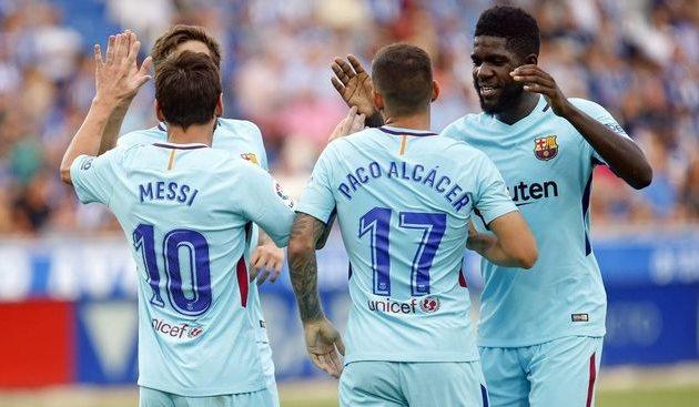Игроки Барселоны, fcbarcelona.com