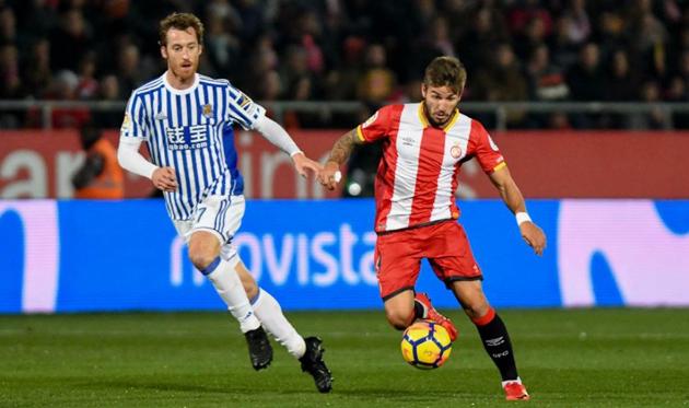 Жирона и Сосьедад обменялись голами, twitter.com/GironaFC