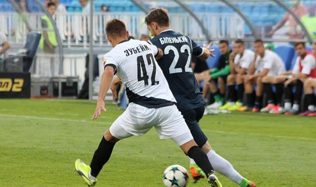 «Черноморец» обыграл «Олимпик» и впервый раз покинул зону вылета