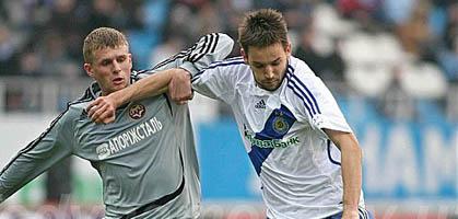 Милош Нинкович (справа), фото fcdynamo.kiev.ua