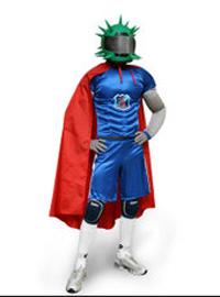 Супермен-Каштанчик ждет своего выхода