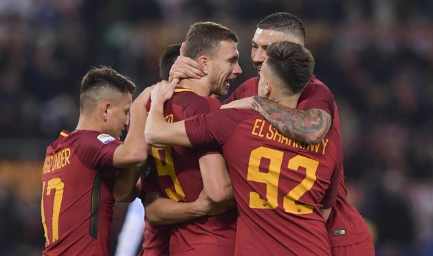 «Рома» обыграла СПАЛ вматче 15-го тура серии А