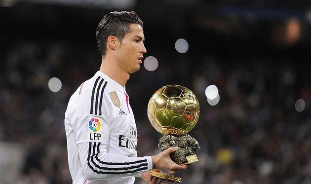 Криштиану Роналду получит Золотой мяч в 2017 году, Getty Images