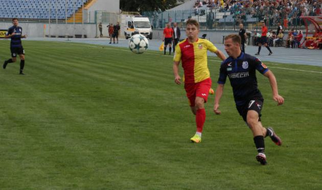 «Черноморец» и«Звезда» сыграли вничью, забив 6 голов