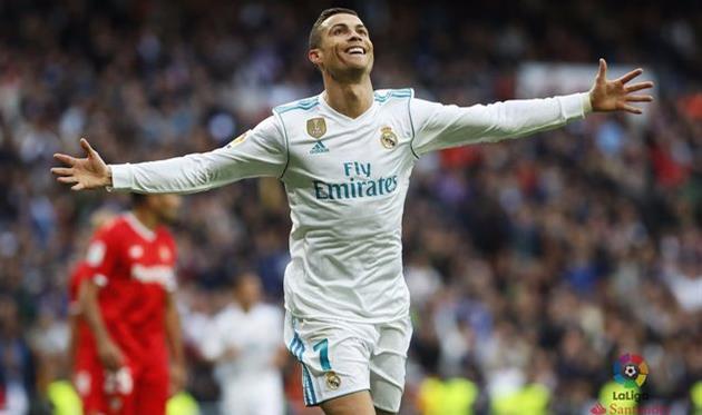 «Реал» уничтожил «Севилью»: Роналду оформил дубль