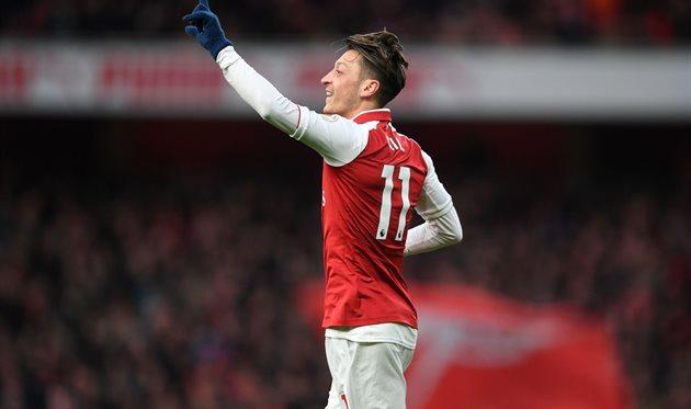 Месут Озил, фото: twitter.com/Arsenal