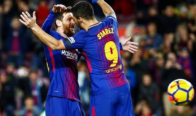 Барселона разгромила Депортиво на«Камп Ноу»