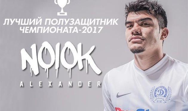 Нойок вошел всимволическую первую сборную чемпионата Белоруссии, Милевский— вовторую