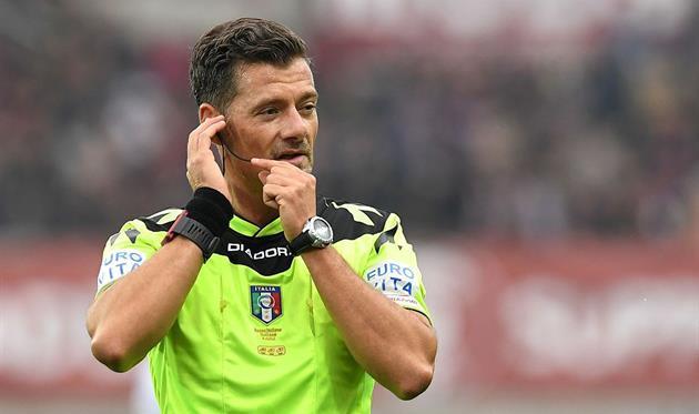FIGC подозревает арбитра чемпионата Италии всимпатиях к«Роме»