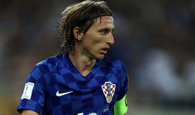 Модрич стал лучшим хорватским футболистом 2017 года, повторив рекорд Шукера