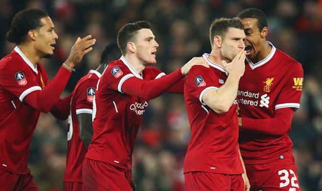 ливерпуль вышел в следующий раунд кубка англии, getty images