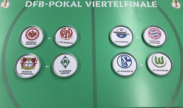 Жеребьевка Кубка Германии, фото: twitter.com/DFBPokal_EN