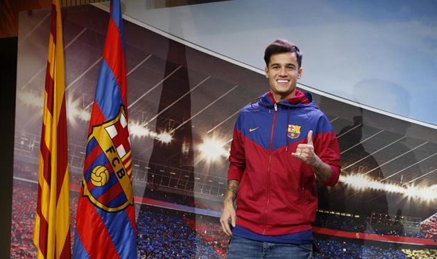 Филиппе Коутиньо - новичок Барселоны, фото: ФК Барселона