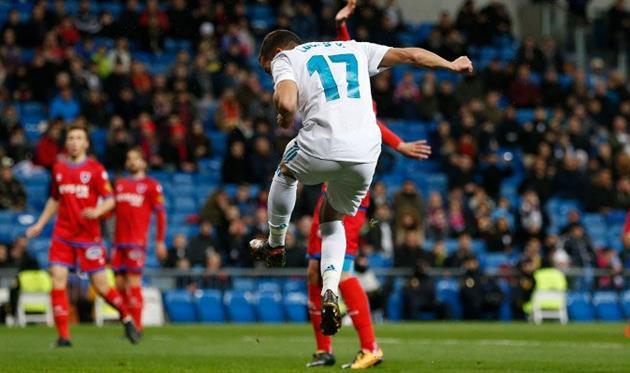 Реал прошел Нумансию, фото: twitter.com/realmadrid