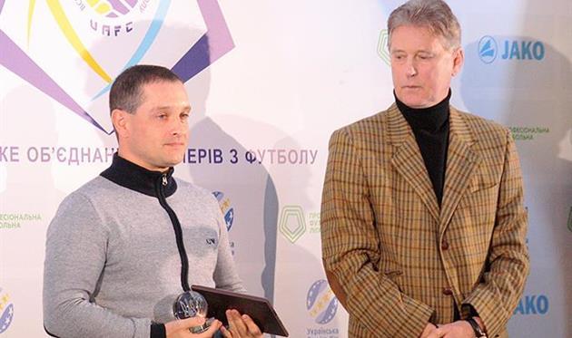 Санжар получил приз лучшему тренеру УПЛ