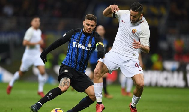 Интер - Рома, фото: twitter.com/Inter