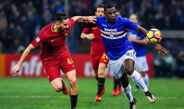 «Рома» впервый раз всезоне набрала очко, уступая всчете походу матча