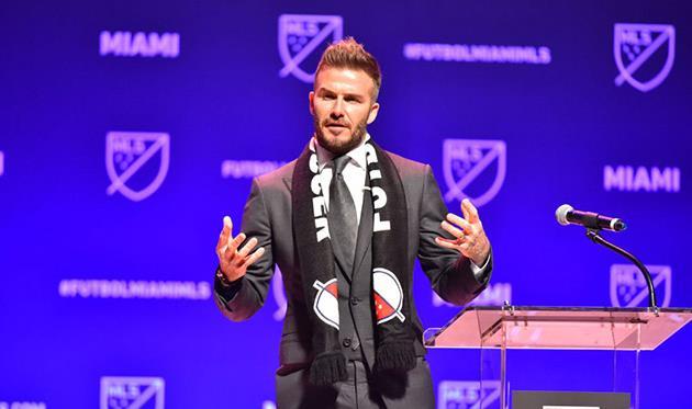Созданный Бекхэмом клуб изМайами официально включён всостав MLS