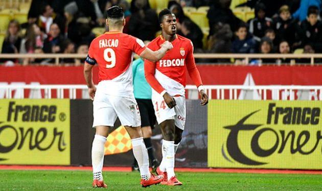«Монако» обыграл «Лион» вчемпионате Франции, уступая походу матча 0:2